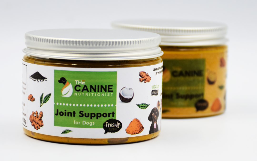 Golden Paste is Good for Dogs too!