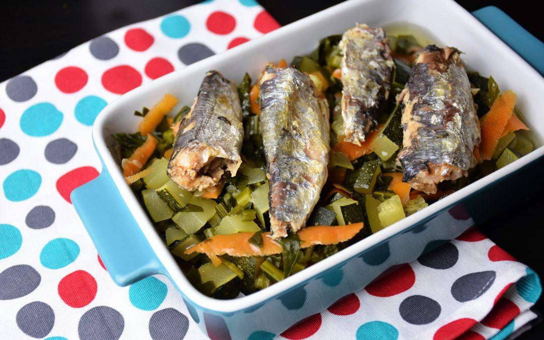 Simple Seafood & Vegetable Platter
