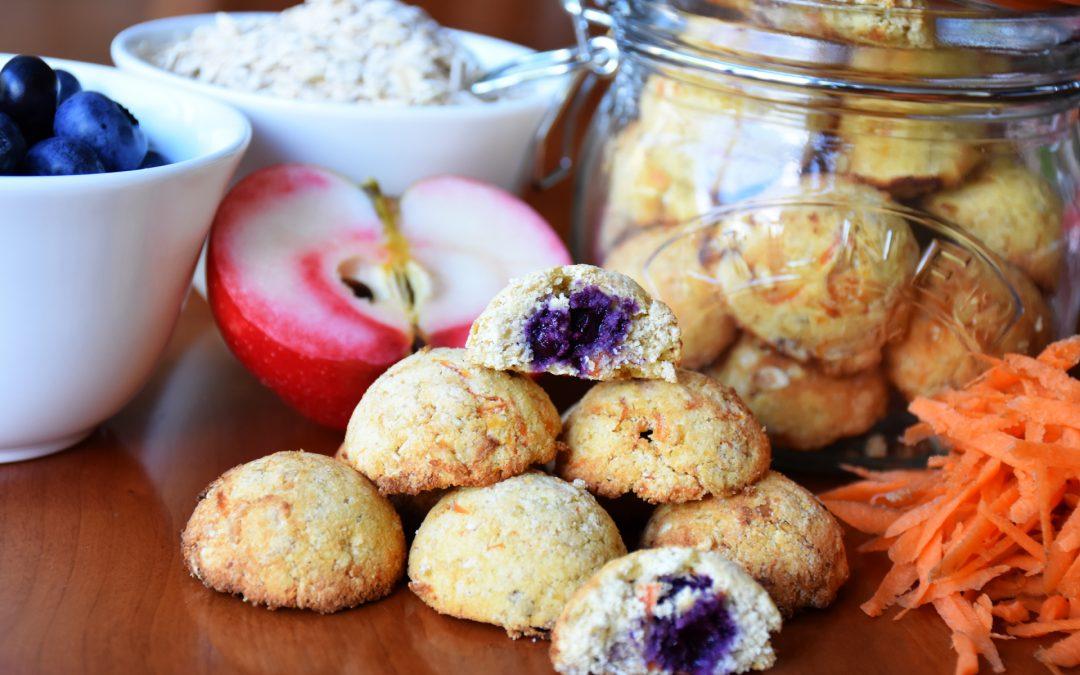 Blueberry, Apple & Carrot Rascals